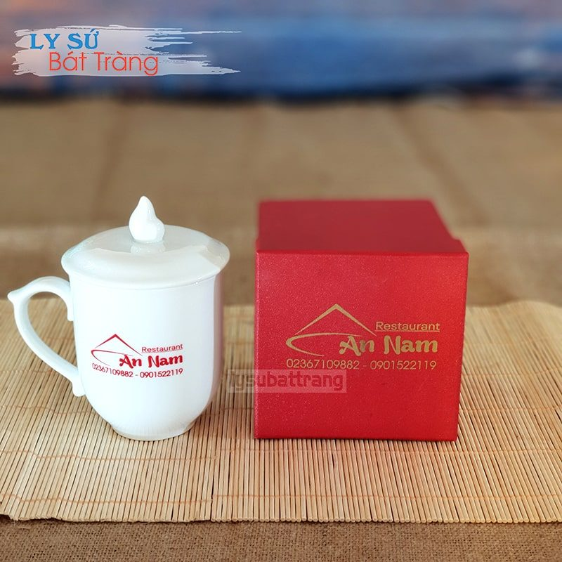 Ly sứ in logo