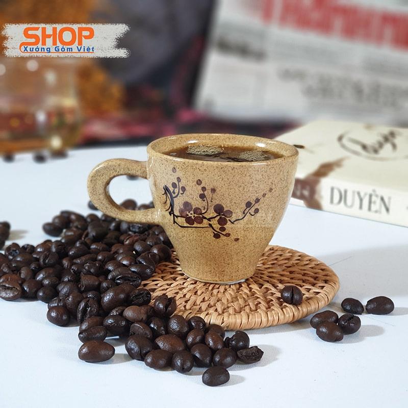 cốc cà phê sứ Bát Tràng tại tpHCM