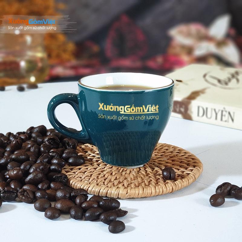 ly sứ cafe Espresso